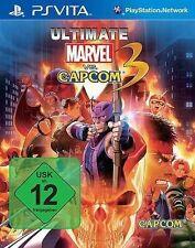 Sony playstation vita sv psvita jeu * ultimate Marvel vs. Capcom 3 *** NOUVEAU * NEW