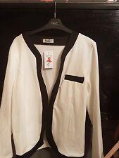 Dresco black and white blazer