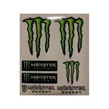 KIT ADESIVI PREFUSTELLATI ORIGINALI MONSTER ENERGY MEDI 8252 TABELLA MM 130X160
