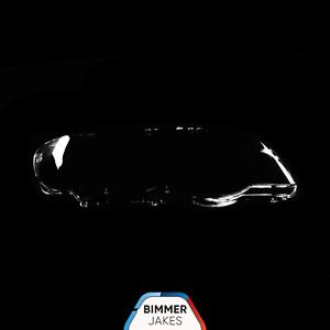 BMW X5 E53 (00-03) OEM Headlight Glass Headlamp Lens Plastic Cover (RIGHT)