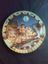 Vintage Decorative Plate The Hamilton Collection 1996 Spirit of Serenity