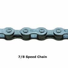 "ETC 1/2 X 3/32"" MULTI GEAR BIKE CHAIN 7/8 SPEED MTB HYBRID ROAD CYCLES 114 LINKS"