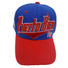 PUERTO RICO Two Tone Flash Style Baseball Hat Cap