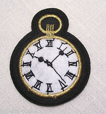 ÉCUSSON PATCH * 6 X 7 cm * MONTRE CHRONO TIC TAC - APPLIQUE BRODÉE thermocollant