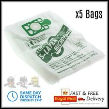 5 x Numatic Henry Hetty Hoover Bags Vacuum Cleaner Cloth Hepa Flo Bag Hepaflow
