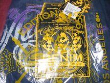 Brand New! $247 Christian Audigier Men's Gangster Jeans Ltd Ed. Signature 36x32
