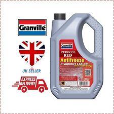 Granville 5l Red Antifreeze Summer Coolant 5 Litre Concentrate 5litre OFFER