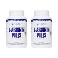 2 Latas pharmasports L-Arginina Plus 160 cápsulas argin CITRULINA OPC TAURINA