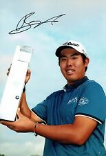 Byeong-Hun AN Signed 12x8 Korean Golf Photo 1 Autograph AFTAL COA BMW PGA Winner
