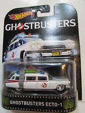 HOT WHEELS RETRO ENTERTAINMENT 2016 GHOSTBUSTERS ECTO-1