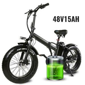Folding ebike,electric bike electric bicycle 48V 750W disk brakes fat Wheel
