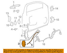 Chevrolet GM OEM 08-11 Impala Front Door-Lock Actuator Motor 20790495