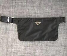 Prada Nylon Black Waist Belt Fanny Bum Bag