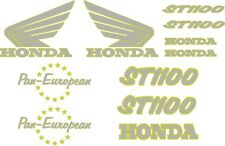 Hon Pan European ST1100 replacement Stickers Decals Fairing and Tank Graphics