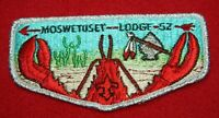 OA Moswetuset Lodge 52 FIRST FLAP S-1 LOBSTER LODGE, MERGED,195,261,131,158,370