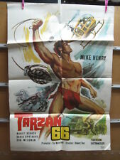 A4537 Tarzán 66 Mike Henry,  David Opatoshu,  Manuel Padilla Jr.,  Nancy Kovack,