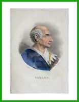 ✅litografia disegno/incisione Dolfino acquerello 1841 ALFONSO VARANO descrizione