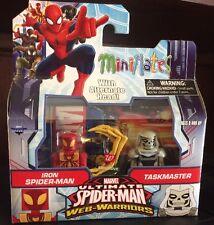 Marvel Minimates! New Iron Spider-Man & Taskmaster! Walgreens Exclusive!