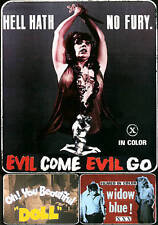 Evil Come Evil Go / Oh You Beautiful Doll / Widown Blue DVD NEW Vinegar Syndrome