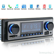 Bluetooth 1 Din Car Kit FM Stereo Radio USB Charger MP3 Player SD MMC Handsfree