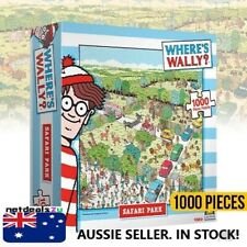 Where's Wally Safari Park 1000 Piece Jigsaw Puzzle years 8+ New