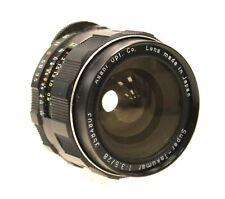 ASAHI PENTAX SUPER-TAKUMAR 28mm f/3.5 M42 Mount Camera Lens  - K25
