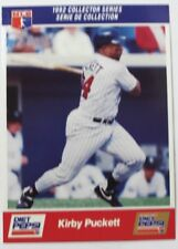 1992 Kirby Puckett Diet Pepsi Collector's Series Card # 27 of 30