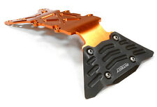 C26068ORANGE Alloy Front Skid Plate for Traxxas 1/10 Scale E-Maxx Brushless