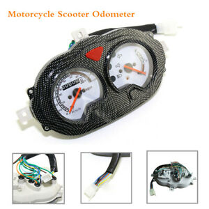 Motorcycle Scooter Odometer Meter Speedometer Assembly Instrument Gauge125/150cc