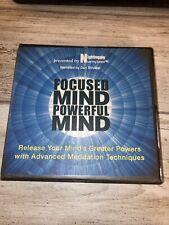 NIGHTINGALE CONANT Focused Mind Powerful Mind 9 CD Set Meditation