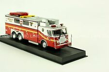 Giant Fire Truck E-One Heavy Rescue -New York, USA -1999 Diecast Model 1:64 No 4
