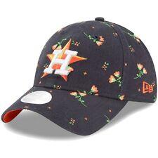 Houston Astros New Era Women's Blossom 9TWENTY Adjustable Hat - Navy