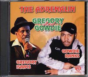 Music CD Gregory Isaacs Gowdie Ranks The Adrenalin Reggae  Sealed