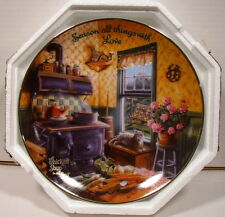 Franklin Mint Chicken Soup for the Soul Season All Things With Love Plate Nm+