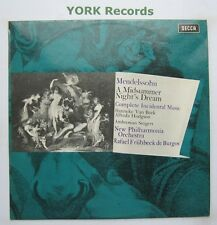 SXL 6404 - MENDELSSOHN - A Midsummer Night's Dream *WIDE BAND* - Ex LP Record