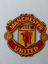 """Manchester United futbol club soccer embroidery Iron on Patch Size 2.""""x2.5"""""""