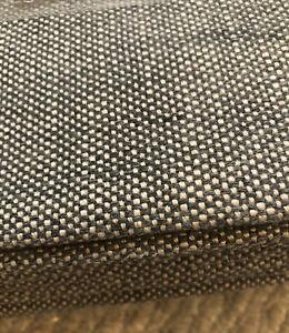 Restoration Hardware Perennials Indoor Drapery Textured Linen Weave 100x96 Fog
