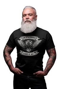 Sons Of Alzheimers Wheres My Bike Mens ORGANIC Cotton T-Shirt Funny Motorbike