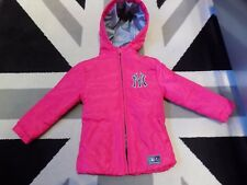 Majestic Athletic Fushia coat 3-4 yrs Fab condition