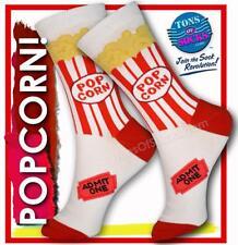 fb72d0f0a4974 Trouser Crew Socks Popcorn Women's 9-11 Foot Traffic Movie Time
