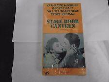 STAGE DOOR CANTEEN  VHS KATHARINE HEPBURN, GEORGE RAFT VHS NEW