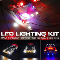 LED Light Lighting Kit ONLY For LEGO 42109 Rally Car Top Gear Bricks Toys z q ︾
