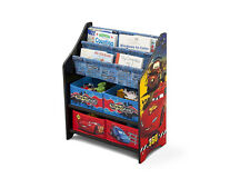 Delta Children Cars Book and Toy Organizer Disney 080213046859
