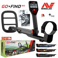 """Minelab GO-FIND 44 Metal Detector with 10"""" inch 7.8 kHz Waterproof Search Coil"""