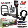 "Minelab GO-FIND 44 Metal Detector with 10"" inch 7.8 kHz Waterproof Search Coil"