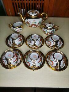 Chinese Antique Porcelain Tea Set