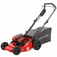 CRAFTSMAN V60 60-volt Max Lithium Ion Push 21-in Cordless Electric Lawn Mower