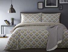 Linge de lit et ensembles blanc avec des motifs Géométrique en 100% coton