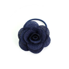 Girls Hair Clip Baby Head Flower Hairpin Cute Hair Accessories Blue for Kids