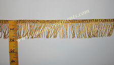 "Vintage Gold Metallic Fringe New Old Stock for Vestment Cape 2-1//2/"" Sold by Yard"